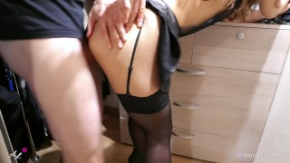 Alice Sucking Big Dick and Doggystyle Fuck