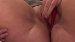 Playing with my pussy till I orgasm