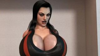 Agnes Shepard - Breast expansion video - 15sec WIP