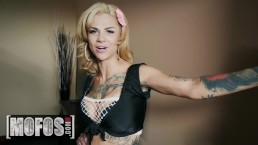 MOFOS - Bonnie Rotten Squirts in her sex dungeon