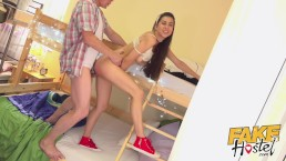 Fake Hostel Sexy young babe with great ass fucked hard