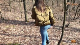 OUTDOOR ! Enjoy fresh air in park with my classmate Anal Creampie 4K