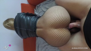 Teen POV Blowjob and Doggystyle with Cumshot