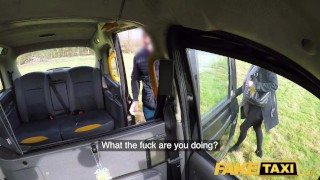 Fake Taxi Greedy blonde MILF Summer Rose demands two cocks in the cab