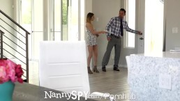 NANNYSPY Nanny Caught and Punished For Having Friend Over