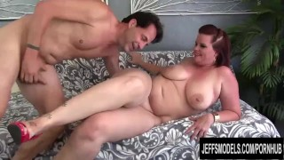Chubby Redhead PAWG Amanda Foxxx Gets Her Mouth Filled and Pussy Pounded