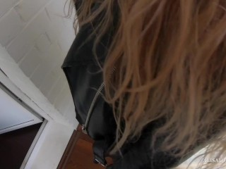 Preview 1 of Teenager Girl with Nice Butt Fucks with the Boss and Gets Hot Cumshot! POV