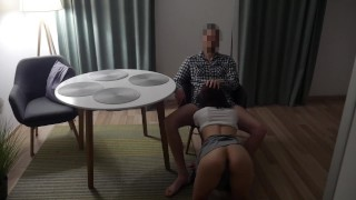 Husband Watches His Young Wife Fucked in the Ass and Pussy