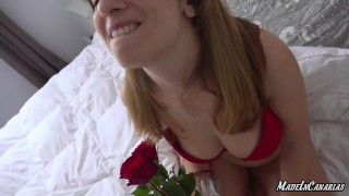 ANAL squirting orgasm on valentine's day 2020   Big natural tits