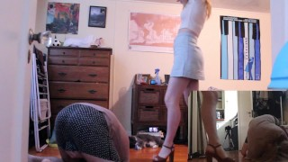 Spring Has Sprung... And So Have I | FULL CLIP - Miss Chaiyles Ballbusting!