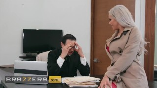 Brazzers - Bombshell Nina Elle cheats on her husband with a big cock