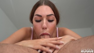 DOUBLE THROATPIE! My Cum Hungry Girlfriend Drains My Balls in 69! - Shaiden Rogue Extreme Deepthroat