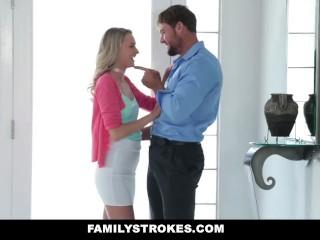 Family Strokes Dont Tell Mom